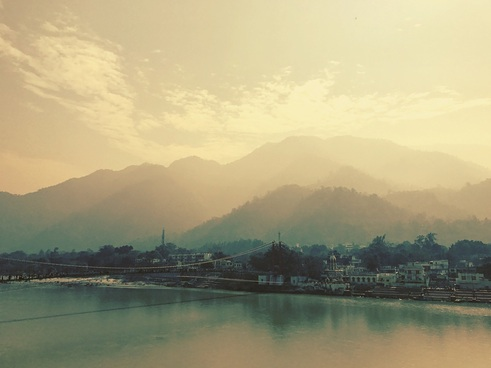The Black ~ Nirvana ~ Rishikesh India ~ Ramjhula ~ God Dieux Photography
