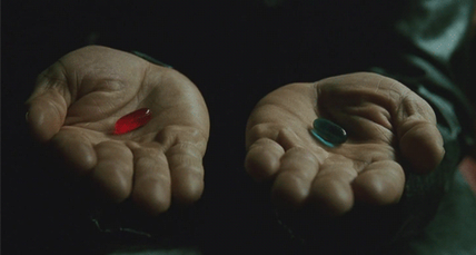 The Red Pill and The Blue Pill Matrix ~ the writings of God Dieux.