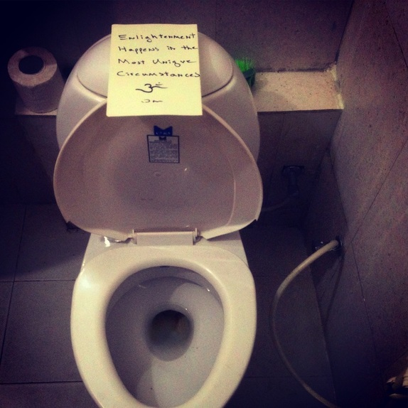 The Toilet Teaching ~ by God Dieux